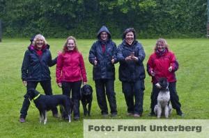 Unser Team der LM 2014 (Marion, Helma, Melanie, Gaby, Betty) fehlend: Frank