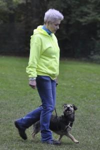 Susanne mit Grobi