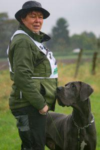 Landesmeister FH1  Bettina Balters und John-Boy vom Rursee